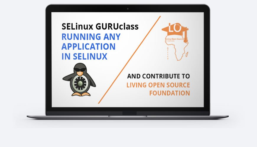 how to run any application in SELinux